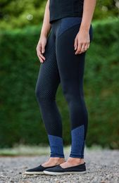 Nuoret- BARE Performance Tights - Blue Storm