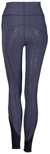 Harry's Horse EquiTights Melange Full Grip, navy